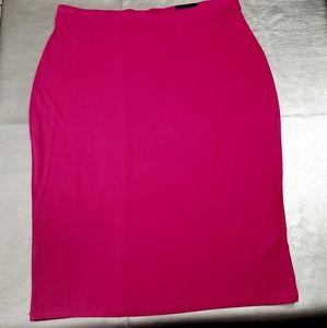 Banana Republic Magenta Surplus Skirt Sz. XL